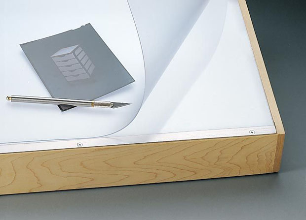 "Alvin Vyco Board Cover: Pre-cut Sheet, Translucent, 37.5"" x 72"", 7 lbs."