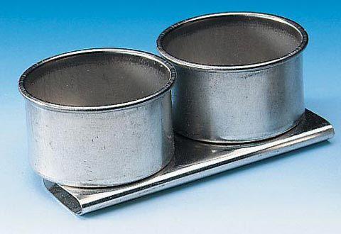 Heritage™ Aluminum Palette Cups: Double