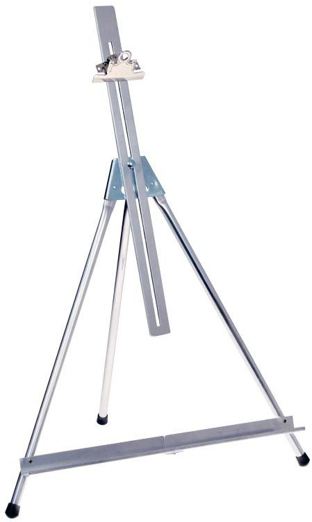 Testrite® Monster Tabletop Easel: MONSTER EASEL WITH EXIT BAR & CLAMP