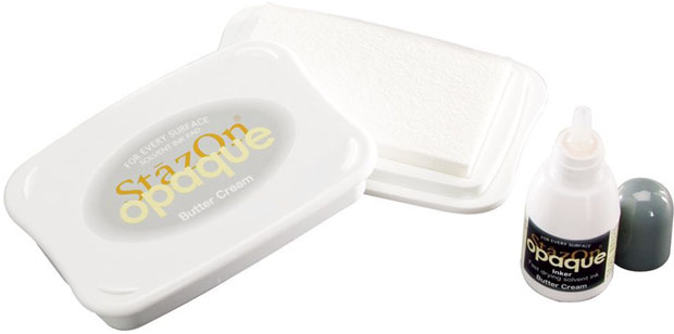 TSUKINEKO® StazOn® Ink Pad: Butter Cream With Re Inker