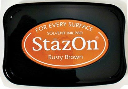 Tsukineko® Stazon® Ink Pad: Rusty Brown