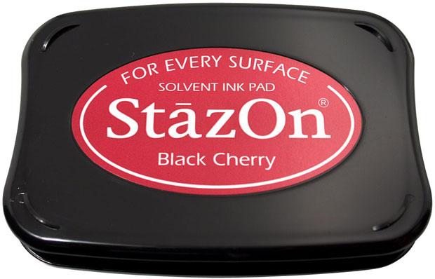 Tsukineko® Stazon® Ink Pad: Black Cherry