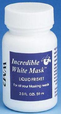 Grafix® Incredible White Mask™ Liquid Frisket: 2 Oz