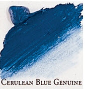 Professional Permalba Cerulean Blue Genuine: 37ml Tube