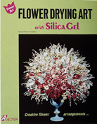 Flower Drying Art With Silica Gel Book, Pack of 6