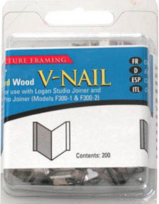 "Logan 1/2"" (12mm) V-Nail: Hard, 1 Pack of 200 V-Nails"