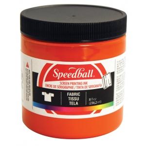 Speedball® 8 oz. Fabric Screen Printing Ink Orange: Orange, Jar, Fabric, 8 oz, Screen Printing, (model 4569), price per each