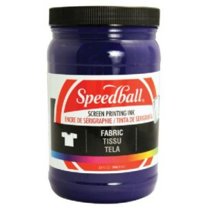 Speedball® Fabric Screen Printing Ink Violet : Purple, Jar, Fabric, 32 oz, Screen Printing, (model 4575), price per each