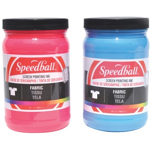 Speedball® Fabric Screen Printing Ink Magenta ; Color: Red/Pink; Format: Jar; Ink Type: Fabric; Size: 32 oz; Type: Screen Printing; (model 45751), price per each