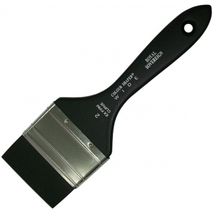 Colour Shaper® Silicone Brush Curve Wide Extrafirm 2: Silicone, Curve, Extra Firm, (model 24220), price per each