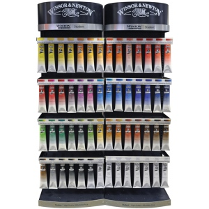 "Winsor & Newton Winton Oil Color Paint Display Assortments: 200ml 36"" Assortment"