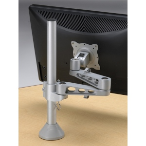 Smith System Split-Top CAD Desk: Accessories, Flat Panel Monitor Arm