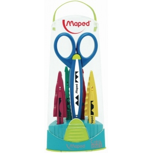 Maped® Craft Scissor Set; Type: Scissors; (model 601005), price per set