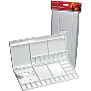Reeves™ Large Folding Plastic Palette; Material: Plastic; Size: Large; (model 8490528), price per each
