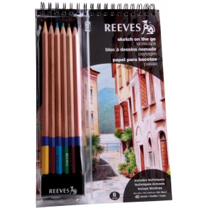 Reeves™ Sketch On The Go Landscape Set; Color: Multi; Type: Drawing; (model 8940003), price per set