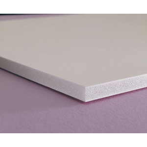 "Elmer's® 40"" x 60"" x 3/16"" Thick Foam Board White 25bx: White/Ivory, Sheet, 25 Sheets, 40"" x 60"", Foam Board, 62 lb, (model 90102), price per 25 Sheets box"