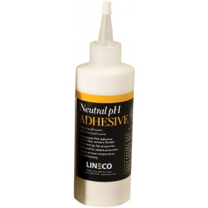 Lineco® Neutral pH Liquid Adhesive: Bottle, 8 oz, (model 9011008), price per each