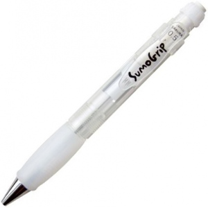 SumoGrip® Clear Mechanical Pencil .5mm: Black/Gray, .5mm, Mechanical, (model 37932), price per each