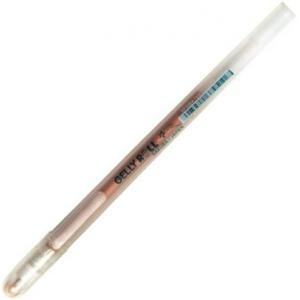 Gelly Roll® Stardust™ Copper Gel Pen; Color: Metallic; Ink Type: Gel, Glitter, Pigment; Tip Size: 1mm; (model 37952), price per each