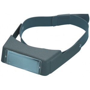 "Alvin® 3-D Binocular Magnifier with Adjustable Headband 2.75x: 2.75x, 7"", Binocular, (model 7747), price per each"