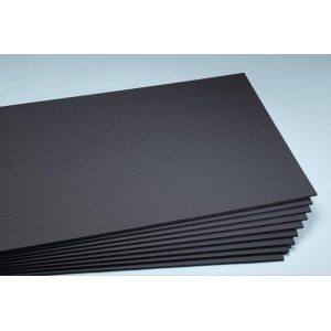 "Elmer's® 40"" x 60"" x 3/16"" Thick Foam Board Black 25bx; Color: Black/Gray; Format: Sheet; Quantity: 25 Sheets; Size: 40"" x 60""; Type: Foam Board; (model 90122), price per 25 Sheets box"