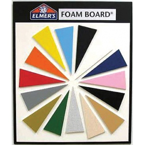 "Elmer's White Foam Boards: 1/8"" Thick, 40"" x 60"", Box of 25"