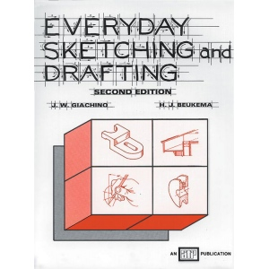 Generic Everyday Sketching and Drafting Second Edition by Beukema and Giachino; Type: Drawing and Sketching; (model 9763), price per each
