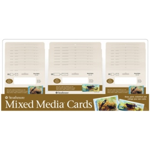 Strathmore® 400 Series Mixed Media Cards Display Assortment: Mixed Media Assortment, (model ST105-311D), price per each