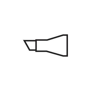 Copic® Original Standard Broad Replacement Nibs Marker; Replacement Nib: Yes; Tip Type: Broad Nib; (model STDBRDN), price per pack