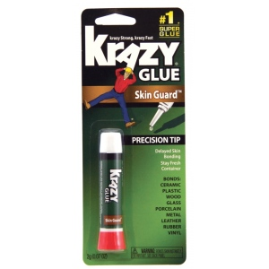 Elmer's® Krazy Glue® with Skin Guard: Tube, (model KG78548R), price per each