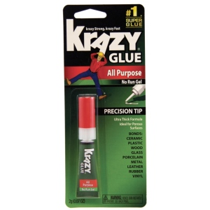 Elmer's® Krazy Glue® with Skin Guard; Format: Tube; (model KG86648R), price per each