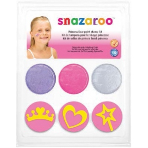 Snazaroo™ Princess Face Paint Stamp Kit; Type: Stamp; (model 1185044), price per each
