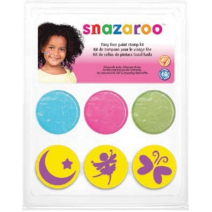 Snazaroo™ Fairy Face Paint Stamp Kit; Type: Stamp; (model 1185045), price per each