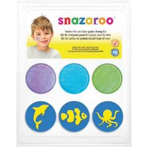 Snazaroo™ Under The Sea Face Paint Stamp Kit; Type: Stamp; (model 1185047), price per each