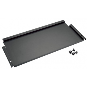 "Alvin® Onyx 12"" Deep Storage Shelf for Onyx Tables; Color: Black/Gray; Drawer Material: Steel; Drawer Size: 12""l x 26 3/4""w; Size: 12""; (model ONX-12), price per each"