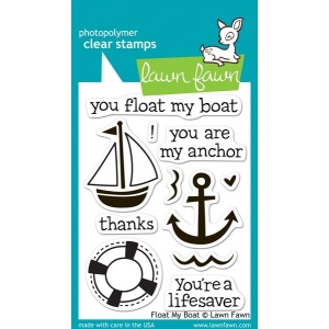 Lawn Fawn Stamp Set: Float My Boat