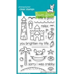 Lawn Fawn Stamp Set: Life Is Good