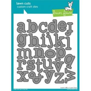 Lawn Fawn Lawn Cuts Dies: Louie's ABCs
