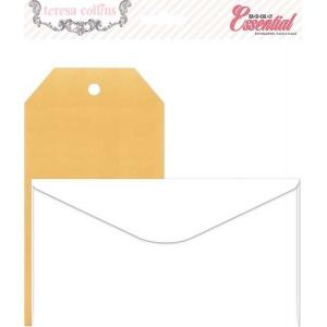 Teresa Collins Designs Basically Essential: Envelope & Tag Pack