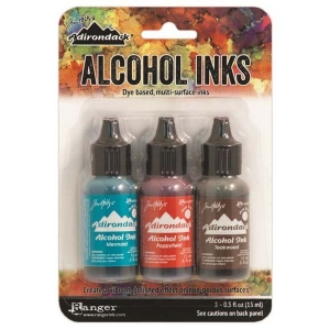 Ranger Tim Holtz Adirondack Alcohol Ink Kits: Mariner