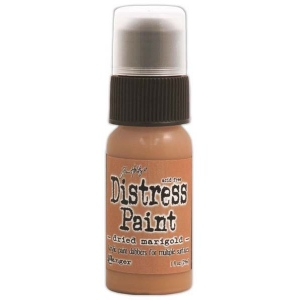 Ranger Tim Holtz Distress Paint Dried Marigold