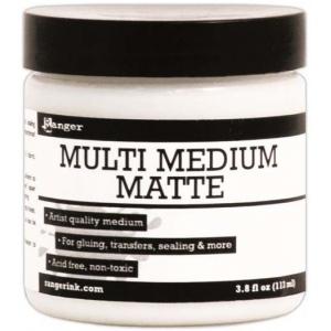 Ranger Multi Medium: Matte, 4 oz.