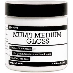 Ranger Multi Medium: Gloss, 4 oz.