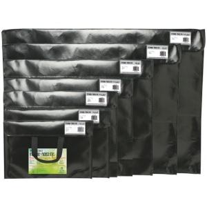"Itoya® Art Profolio® Art Envelopes 14.5"" x 20""; Color: Black/Gray; Material: Polypropylene; Size: 14 1/2"" x 20""; (model NV1420BK), price per each"
