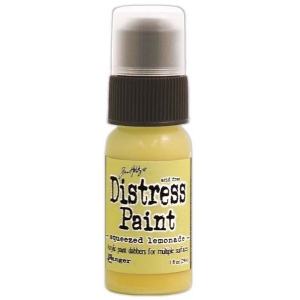 Ranger Tim Holtz Distress Paint: Squeezed Lemonade