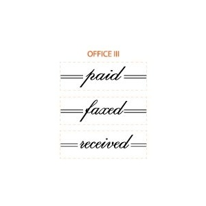 Mason Row Stakz Stamp Office Set III