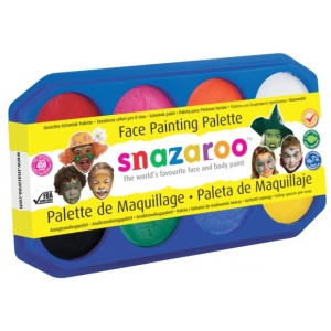 Snazaroo™ Face Painting Palette Kit; Color: Multi; Size: 18 ml; (model 1194040), price per each