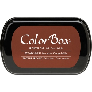 Clearsnap ColorBox Archival Dye Inkpad: Saddle