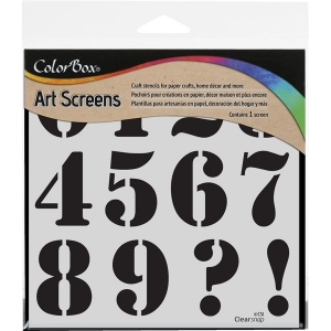 Clearsnap ColorBox Screens: Numeric