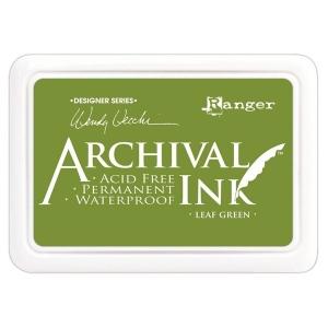 Ranger Wendy Vecchi Archival Ink Pads #0: Leaf Green